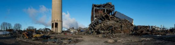 Collapse at Didcot Power Station