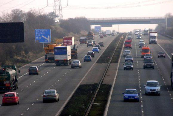 A motorway.