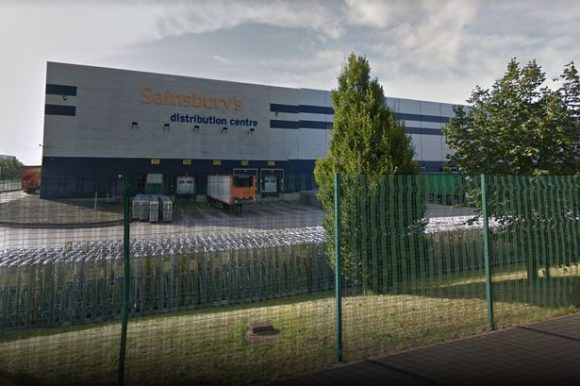 Sainsbury's distribution centre
