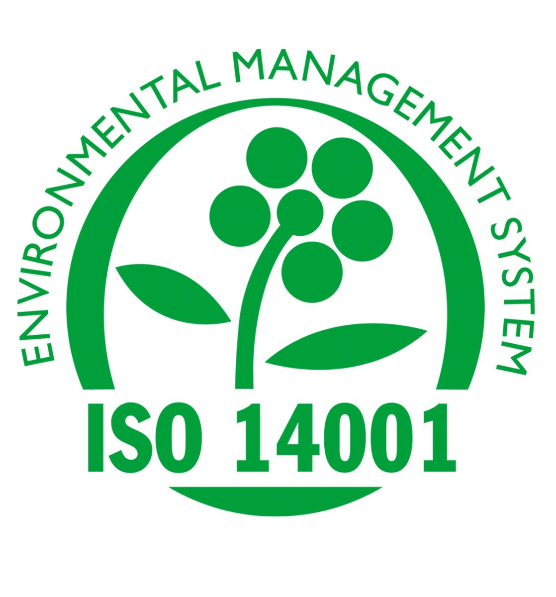 Environmental Management System ISO 14001 logo