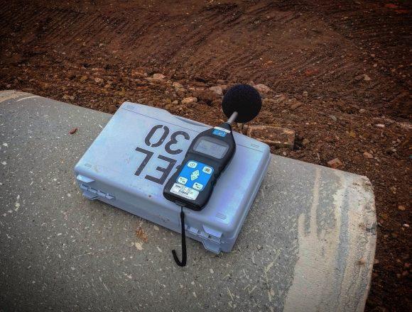 Noise monitoring equipment.