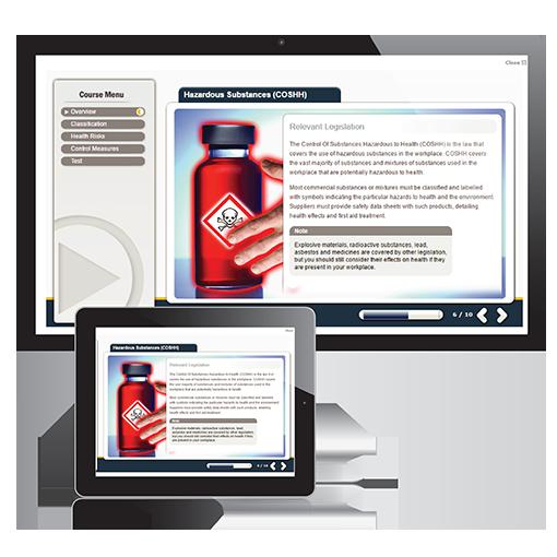 Control of Hazardous Substances course
