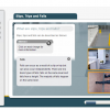 A screenshot of a Slips, Trips and Falls online course.