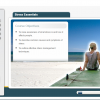 A screenshot of a Stress Essentials online course and its course objectives.