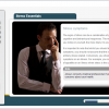 A screenshot of a Stress Essentials online course, focusing on the symptoms of stress.