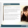 A screenshot of a Stress Essentials online course, focusing on the effects of stress.