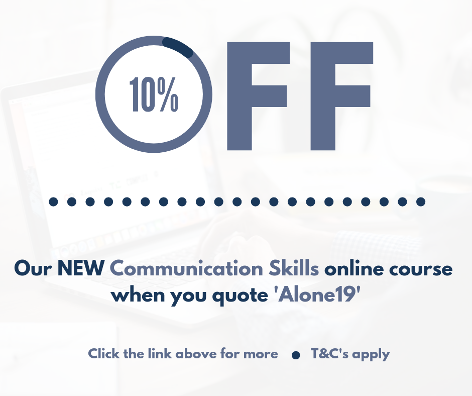 10% Off Communication Skills Course