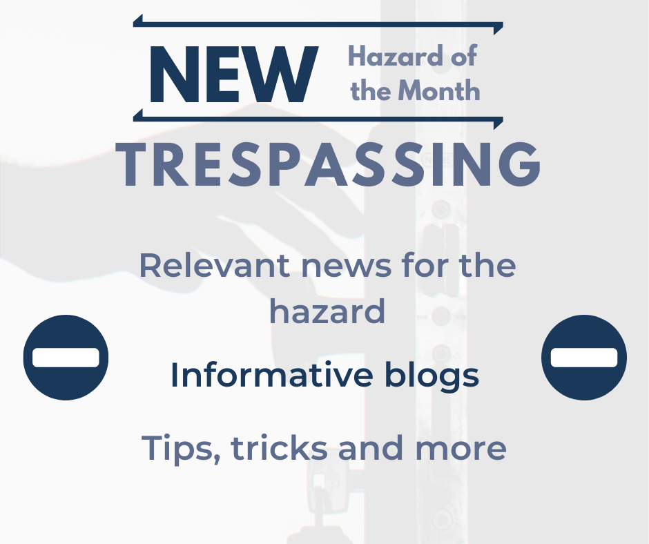 New Hazard of the Month for WA Management: Trespassing