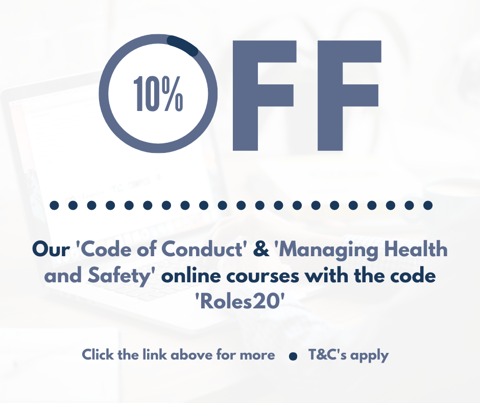 10% Off for Jan HOM, Roles and Responsibilities