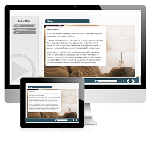 Sleep Awareness Online Training Course.