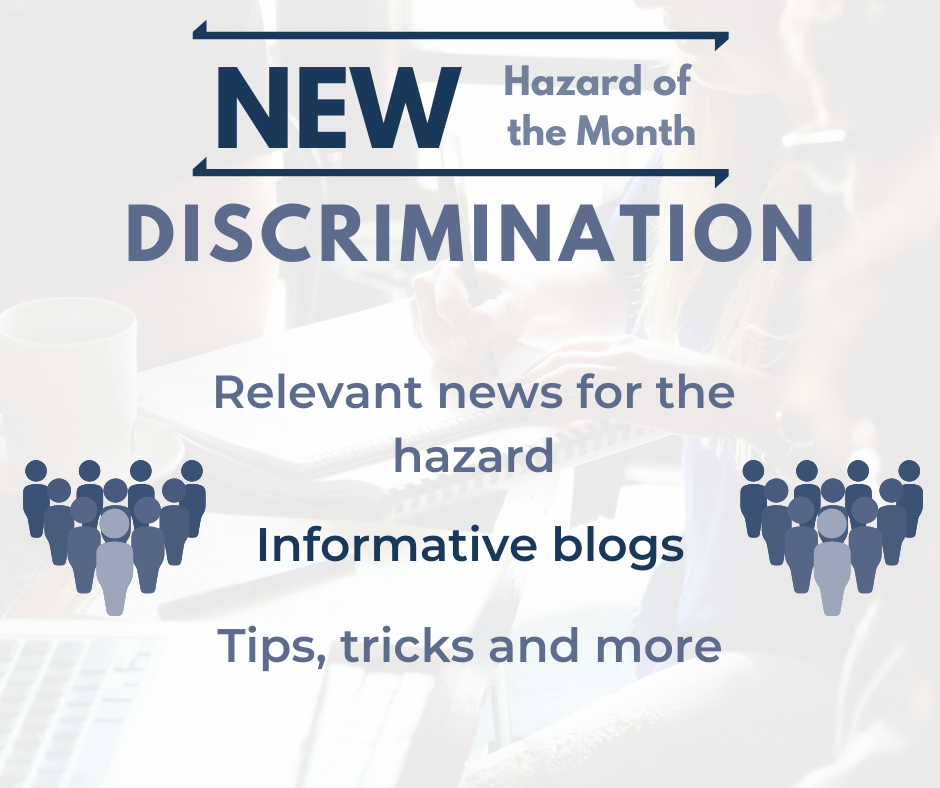 HOM for March: Discrimination