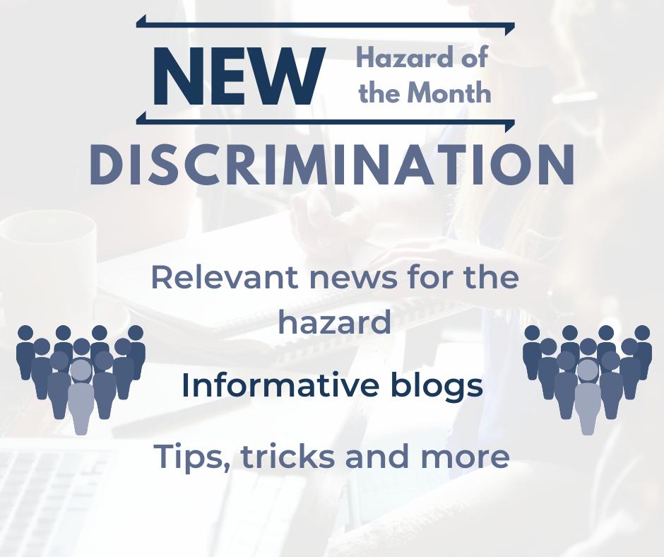 HOM for March: Discrimination