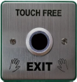 Touch free door switch