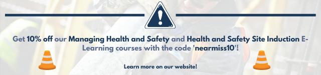 10% off Managing Health and Safety and Health and Safety Site Induction courses with the code 'nearmiss10'