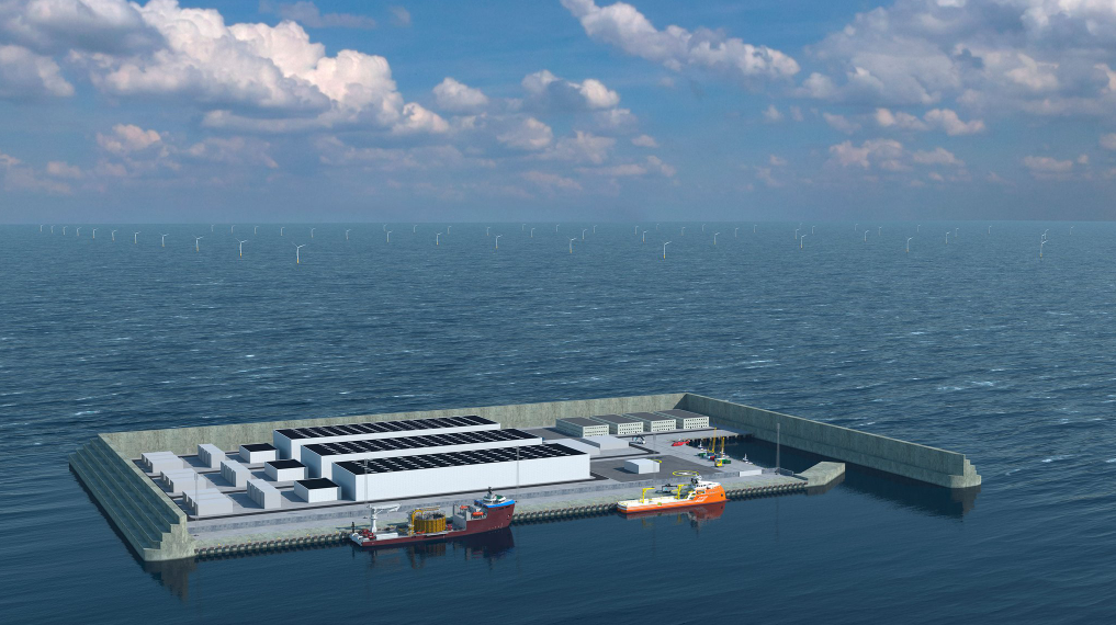 Denmark North Sea Energy Hub Model. Source: The Ministry of Climate, Energy and Utilities