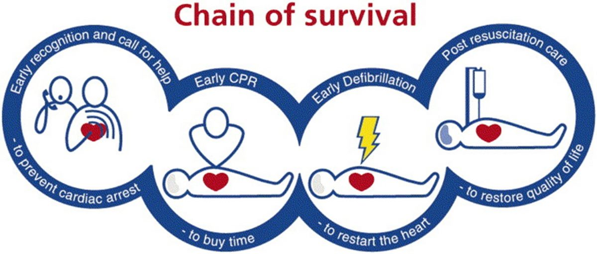 Chain of Survival for Cardiac Arrest