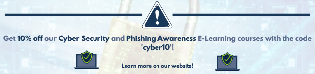 Get 10% off WA Management's Cyber Security and Phishing Awareness online training courses with the code 'cyber10'