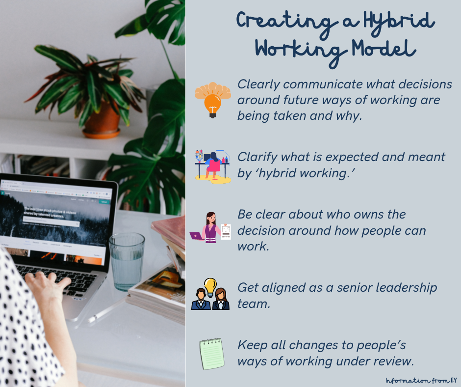 5 tips to follow when creating a hybrid working model